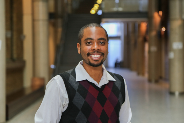 Mikhail Burke, Dean's Advisor on Black Inclusivity Initiatives and Student Inclusion and Transition Mentor