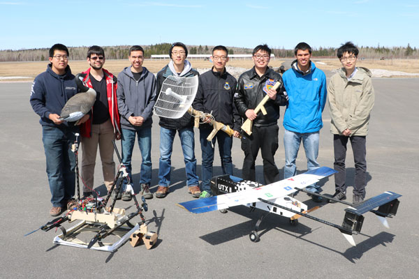 Student team takes first place at the Unmanned Systems Canada UAS Student Competition.