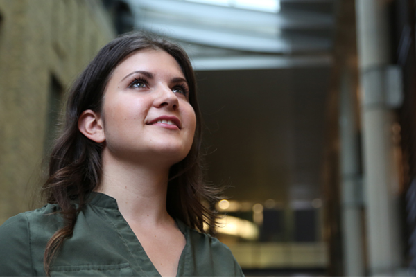 Lassonde Mineral Engineering student Marina Reny