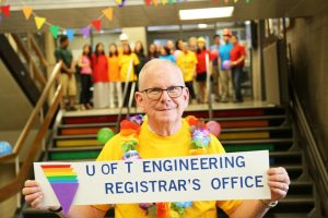 U of T Engineering Faculty Registrar, Don MacMillan.