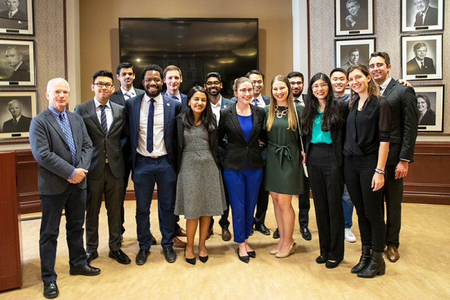 U of T Engineering 2019 Cressy Award Winners