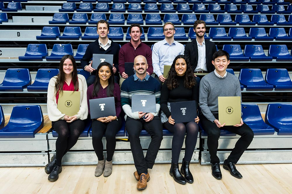 U of T Engineering students at the Academic Excellence Awards. Photo: Seyram Mammadov.