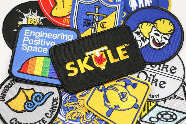 Assortment of Skule patches